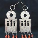 Berber Head Adornments – OUEZZANE – MoroccoBerber Head Adornments – OUEZZANE – Morocco