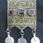 Old Berber Silver Talisman – HERZ – MoroccoVecchio Talismano Berbero – HERZ – Marocco