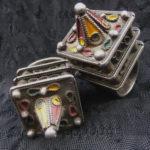 Hair Ornaments – Ait Akka  – Berber – MoroccoHair Ornaments – Ait Akka – Berber – Morocco