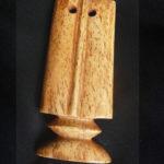 Bone Lobi Pendant – Komé – Thungbubiel – Burkina FasoBone Lobi Pendant – Thungbubiel – Burkina Faso