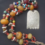 Berber Necklace – Hand of Fatima – Rif Mountains, MoroccoBerber Necklace – Hand of Fatima – Rif Mountains, Morocco