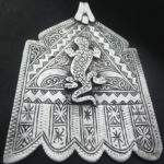 Hand of Fatima n. 07 – Khamsa – Berber, MoroccoHand of Fatima – Khamsa – Berber, Morocco