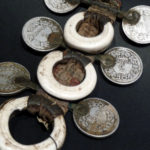 Tuareg Leather Talisman – Shells and Coins – AlgeriaTuareg Leather Talisman – Shells and Coins – Algeria