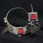 Large Berber Earrings – Ida Ou Nadif, Morocco