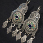 Large Berber Earrings – Tiznit, Morocco