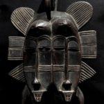Fine Senufo Twin Kpelie Mask – Ivory Coast