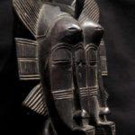 Senufo Twin Kpelie Mask – Ivory Coast