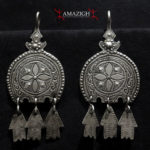 Berber Earrings – Hilal and Khamsas – Morocco
