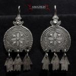 Berber Earrings – Hilal and Khamsas – Morocco