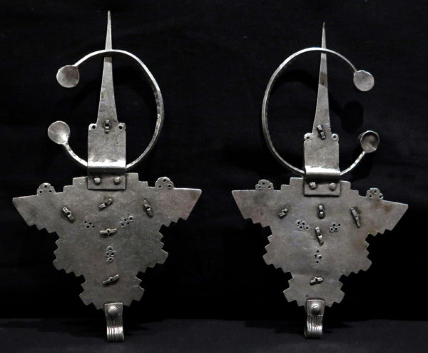 Pair Berber Fibulae – TIZERZAI – Tiznit Region, South Morocco