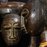 Pair of Male Female Figures – ANYI-AGNI – Ivory Coast