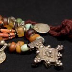 Berber Necklace – Boghdad – Silver, Amber, Coral – South Morocco