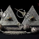 Pair Berber Fibulae – Tiznit, South Morocco