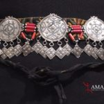 Berber Headband – Silver, Niello Decorations – South Morocco