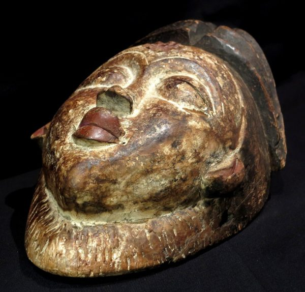Puno Mask – Okuyi – Mukudji Society – Gabon