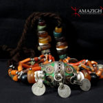 Berber Necklace – Tagmout – Silver, Amber, Coral – South Morocco