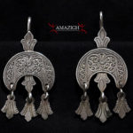 Berber Earrings – Hilal and Khamsas- Morocco