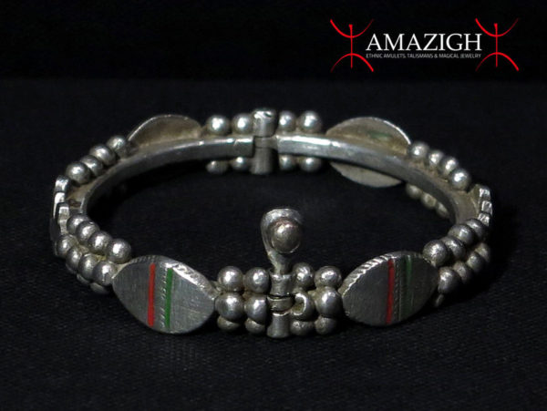 Berber Hinged Bracelet – Guelmim, South Morocco