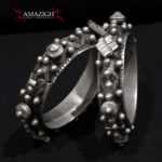 Pair Moorish/Berber Hinged Bracelets – MIZAM – Mauritania/South Morocco