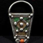 Berber Frontal Amulet – LEBST – Pre-Sahara Region, South Morocco