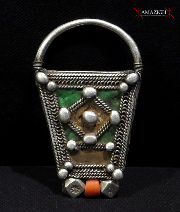 Berber Frontal Amulet – LEBST – Pre-Sahara Region, South Morocco