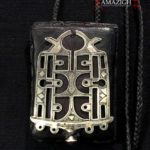 Tuareg Talisman – Bella Amulet on Leather Gris-Gris – Niger