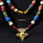 Berber Necklace – Boghdad Cross – Guelmim Region, Morocco