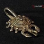Lobi Bronze Amulet – Scorpion – Burkina Faso