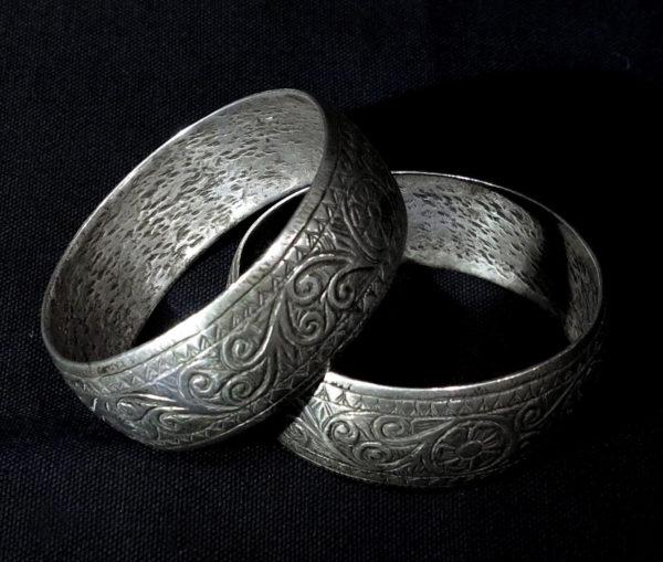 Pair Berber Bracelets – Essaouira, South Morocco