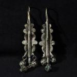 Outstanding Old Large Berber Earrings – Ouarzazate Region, Morocco