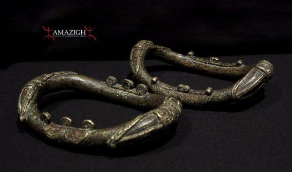 Old Baule Anklets – Ivory Coast