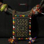 Large Sahrawi Talismanic Necklace – Kitab – Western Sahara – Rare Item