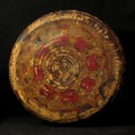 Old Fine Tuareg Leather Basket – Niger