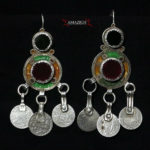 Old Berber Earrings – Tiznit Region, South Morocco