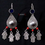 Old Berber Earrings – Hands of Fatima – Essaouira, Morocco