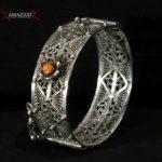 Old Berber Hinged Bracelet – North Morocco
