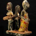 Fine Large Guro Mask – Zaouli Dance – Côte d'Ivoire / Ivory Coast