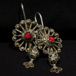 Antique Berber Earrings – Zagora, Draa Valley, Morocco