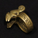 Old Fine Gurunsi Ring – Chameleons – Burkina Faso
