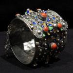 Old Berber Bracelet – Silver, Coral – Kabyle Tribe, Algeria