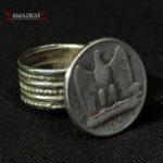 Old Ring – 5 Lire – Roman Eagle – Ethiopia