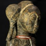 Old Fine Baule Maternity Figure – Côte d'Ivoire / Ivory Coast