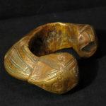 Antique Massive Yoruba Copper Bracelet – Manilla – African Currency – Nigeria