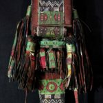 Outstanding Old Tuareg Leather Bag – Scroll – Niger