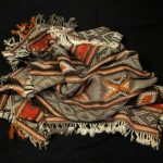 Outstanding Old Berber Tribal Carpet – Ait Ouaouzguite Tribe – Akhnif Morocco