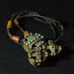 Fine Dogon Amulet – Suns – Mali