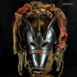 Outstanding Old Chokwe Mask – NGULU – Angola