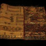 Old Fine Woven Straw Leather Carpet – Tuareg – Niger