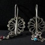Antique Berber Earrings – Zagora, Draa Valley, Moroccos-l1600 (6)