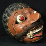 Old Wayang Topeng Mask – East Java – Indonesia